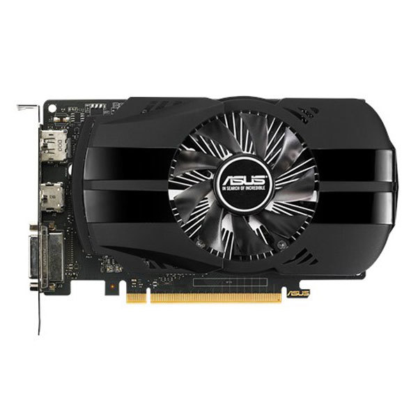 Placa video ASUS NVIDIA GeForce GTX 1050 Ti, 4GB GDDR5, 128bit, PH-GTX1050TI-4G