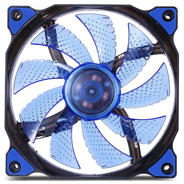 Ventilator Segotep Polar Wind 120 Blue led, 120mm, POLARWND-BL