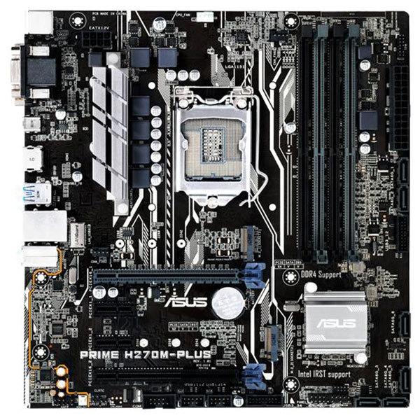 Placa de baza ASUS PRIME H270M-PLUS, socket 1151, 4xDDR4, 6xSATA3, mATX