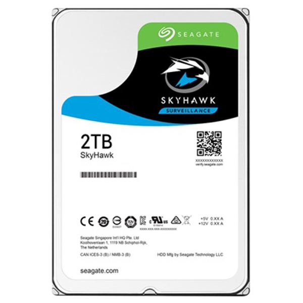 Hard Disk desktop SEAGATE SkyHawk Surveillance 2TB, 5900rpm, SATA3, 64MB, ST2000VX008
