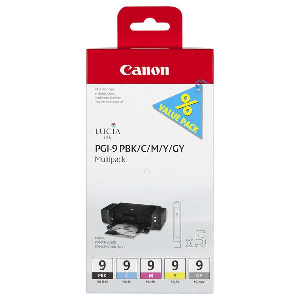 Cartus CANON PGI-9 PBK / C / M / Y / GY