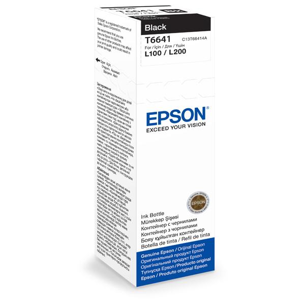 Cerneala EPSON T6641, negru