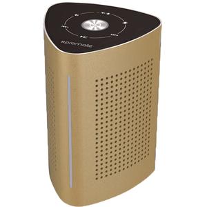 Boxa portabila PROMATE Cyclone, Bluetooth, auriu