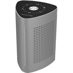 Boxa portabila PROMATE Cyclone, Bluetooth, gri