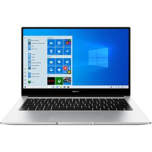 "Laptop HUAWEI MateBook D 14, AMD Ryzen 5-3500U pana la 3.7GHz, 14"" Full HD, 8GB, SSD 512GB, AMD Radeon Vega 8 Graphics, Windows 10 Home, argintiu"