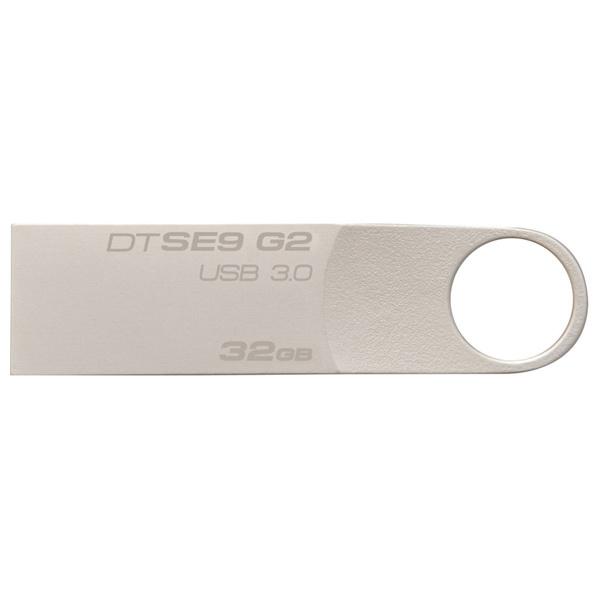 Memorie portabila KINGSTON DataTraveler SE9 G2 DTSE9G2/32GB, 32GB, USB 3.0, argintiu