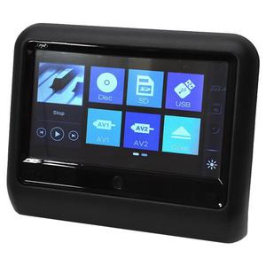 Monitor auto multimedia PNI DB900, ecran tactil de 9 inch, DVD player, slot card SD si USB, aplicabil pe tetiera, negru