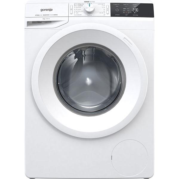Masina de spalat rufe frontala GORENJE WEI823, 8kg, 1200rpm, A+++, alb