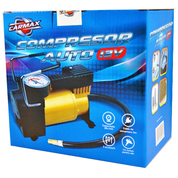 Compresor auto CARMAX 30228, 7 bar, 12V