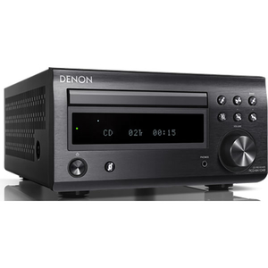 Minisistem audio DENON RCDM41BKE2, CD, Bluetooth, negru