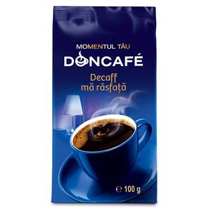 Cafea macinata DONCAFE Decofeinizata 300119, 100gr