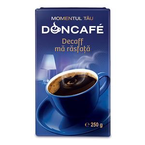 Cafea macinata DONCAFE Decofeinizata 300120, 250gr