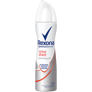 Deodorant spray antiperspirant REXONA Active Shield, pentru femei, 150ml