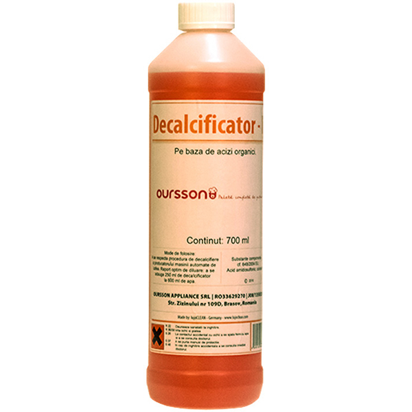 Decalcificator pe baza de acizi organici OURSSON 1005, 700ml