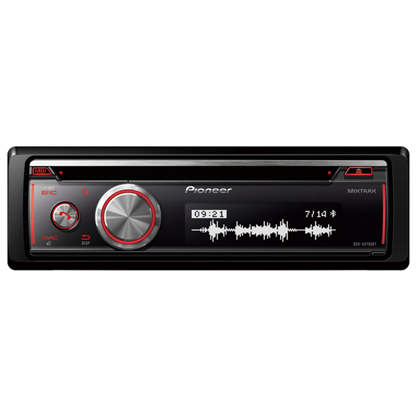 Radio CD auto PIONEER DEH-X8700BT, 4x50W, USB, Bluetooth, iluminare multicolor