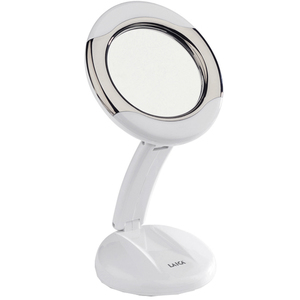 Oglinda cosmetica cu iluminare LAICA MD6051, 12.5cm, alb