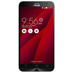 "Telefon Dual Sim ASUS ZenFone 2 ZE551ML, 5.5"", 13MP, 4GB RAM, 32GB, 4G, Quad Core, Red"