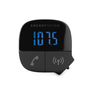 Modulator FM ENERGY SISTEM Bluetooth Music, Hands-free, negru
