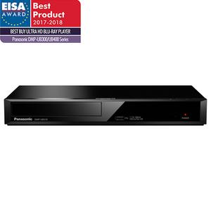 Blu-ray player Ultra HD 4K PANASONIC DMP-UB310EGK, Wi-Fi, USB, HDMI, negru