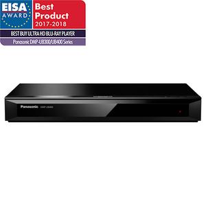 Blu-ray player Ultra HD 4K PANASONIC DMP-UB400EGK, Wi-Fi, USB, HDMI, negru