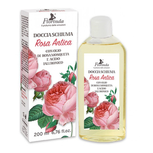Gel de dus LA DISPENSA, cu acid hilaluronic si Rosa Moscheta, 200ml