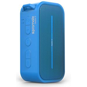 Boxa portabila PROMATE Rustic 2, Bluetooth, MicroSD, Waterproof, blue