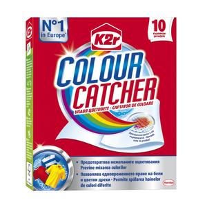 Aditiv pentru spalare K2R Color Catcher, 10 spalari