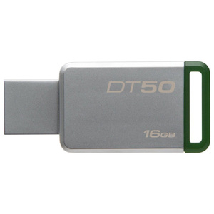 Memorie portabila KINGSTON DataTraveler 50, 16GB, USB 3.1, argintiu