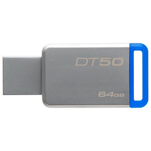 Memorie portabila KINGSTON DataTraveler 50, 64GB, USB 3.1, argintiu