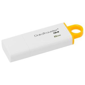 Memorie portabila KINGSTON DataTraveler Generation 4 DTIG4/8GB, 8GB, alb