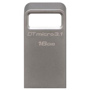 Memoire USB KINGSTON DataTraveler Micro 3.1, 16GB, USB 3.1, argintiu