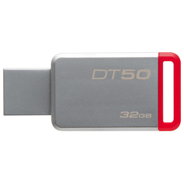 Memorie portabila KINGSTON DataTraveler 50, 32GB, USB 3.1, argintiu