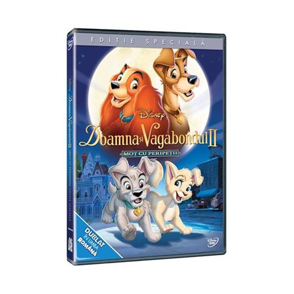 Doamna si Vagabondul II: Mot cu peripetii DVD