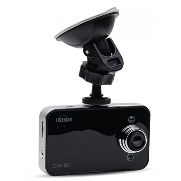 "Camera video auto FREEMAN DVR 100, 2.4"", HD, negru"