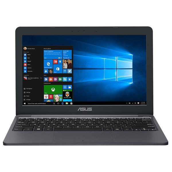 "Laptop ASUS E203NA-FD025TS, Intel® Celeron® N3350 pana la 2.4GHz, 11.6"", 4GB, eMMC 32GB, Intel® HD Graphics 500, Windows 10"
