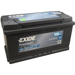 Baterie auto EXIDE Premium EA1000, 12V, 100Ah, 900A