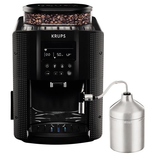 Espressor automat KRUPS Espresseria Automatic EA816031, 1.7l, 1450W, 15 bari, negru