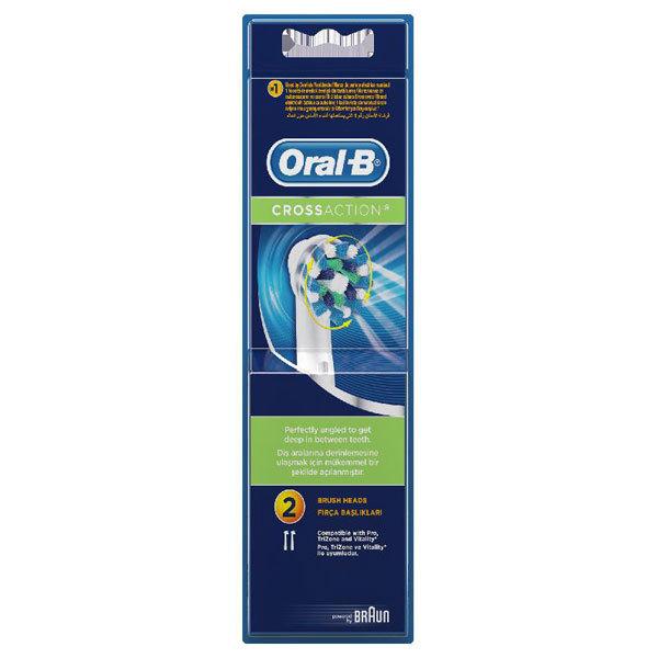Rezerve periuta de dinti electrica ORAL-B Cross Action EB50, 2buc