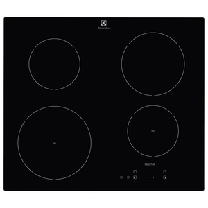 Plita incorporabila ELECTROLUX EHH6240ISK, inductie, 4 zone de gatit, 6600W, negru