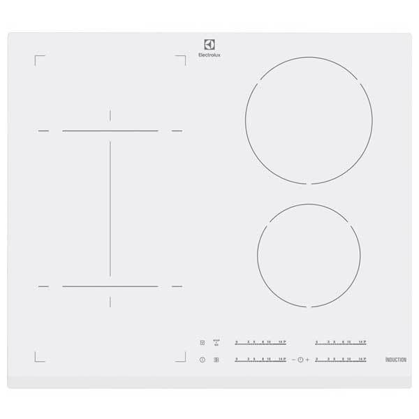 Plita incorporabila ELECTROLUX EHI6540FW1, inductie, 4 zone de gatit, 7400W, alb