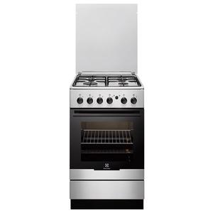 Aragaz ELECTROLUX EKG51154OX, 4 zone de gatit, gaz, grill, rotisor, inox
