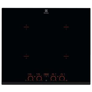 Plita incorporabila ELECTROLUX EHD6740FOK, inductie, 4 zone de gatit, negru