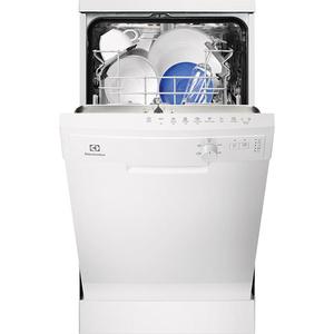 Masina de spalat vase independenta ELECTROLUX ESF4202LOW, 9 seturi, 5 programe, 45 cm, clasa A+, alb