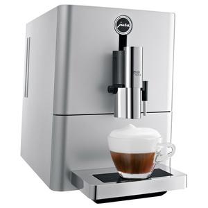 Espressor automat JURA ENA Micro 90, tehnologie P.E.P.®, rasnita AromaG3, 6 specialitati one touch, 1.1l, 15 bari, argintiu
