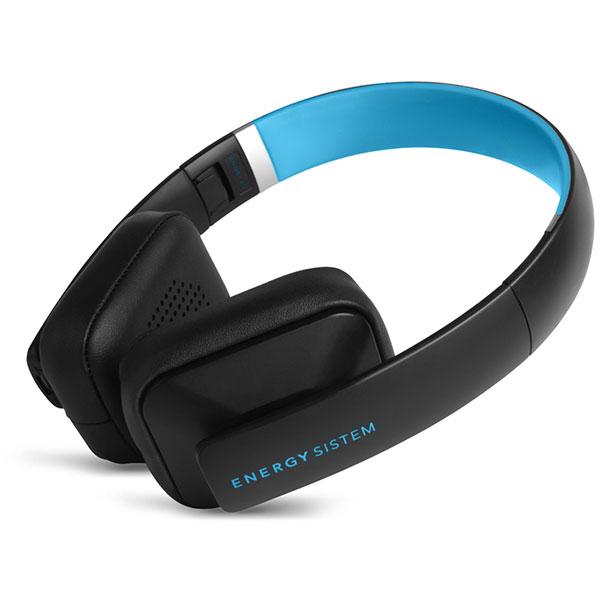 Casti ENERGY SISTEM BT2, Bluetooth, On-Ear, Microfon, albastru