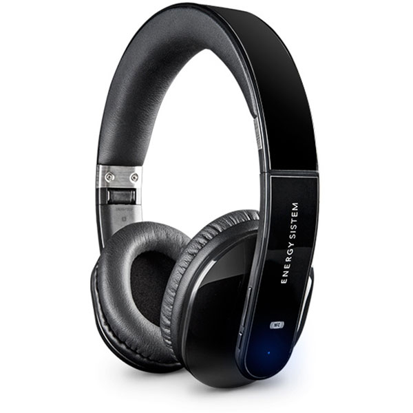 Casti ENERGY SISTEM BT5+, Bluetooth, NFC, On-Ear, Microfon, negru