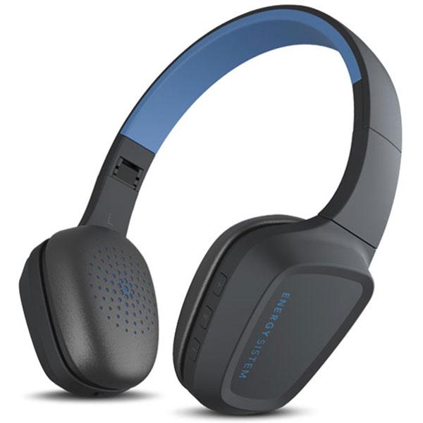 Casti ENERGY SISTEM Headphones 3, Bluetooth, On-Ear, Microfon, albastru