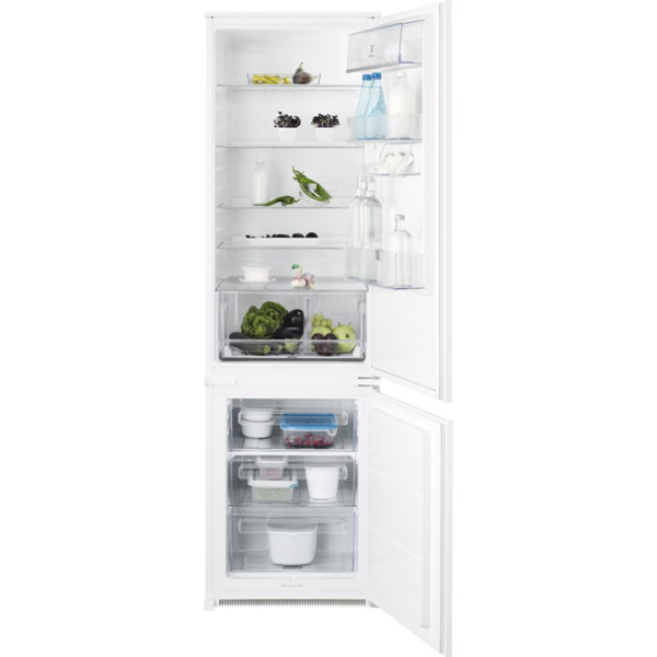 Combina frigorifica incorporabila ELECTROLUX ENN3101AOW, 303l, A+, alb
