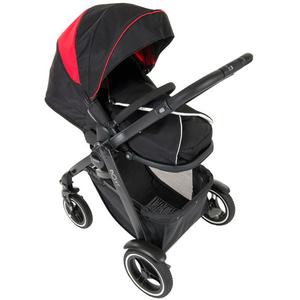 Carucior sport GRACO Evo XT Black Red G6CM99BRCU, 0 - 3 luni, negru-rosu