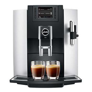 Espressor automat JURA E8, 12 specialitati One Touch, tehnologie P.E.P.®, afisaj TFT, 15 bari, 1,9 l, negru-argintiu